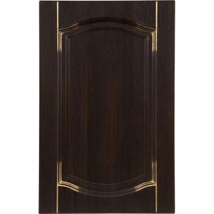 Дверь для кухонного шкафа Византия 45х70 см цвет темно-коричневый