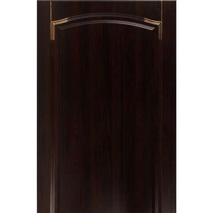 Дверь для кухонного шкафа Византия 60х130 см цвет темно-коричневый