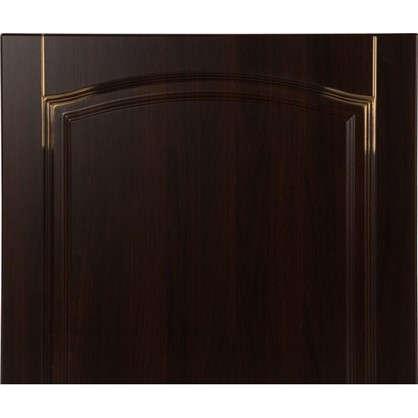 Дверь для кухонного шкафа Византия 60х70 см цвет темно-коричневый
