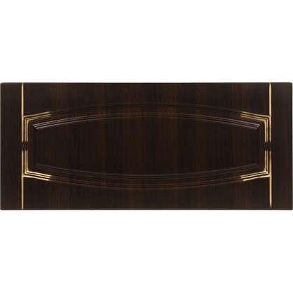 Дверь для кухонного шкафа Византия 80х35 см цвет темно-коричневый