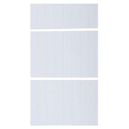 Дверь для шкафа Delinia Фенс 3 ящика 40 см см МДФ цвет белый