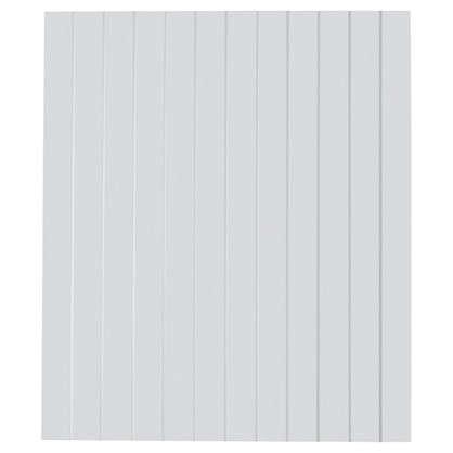 Дверь для шкафа Delinia Фенс 60х70 см МДФ цвет белый