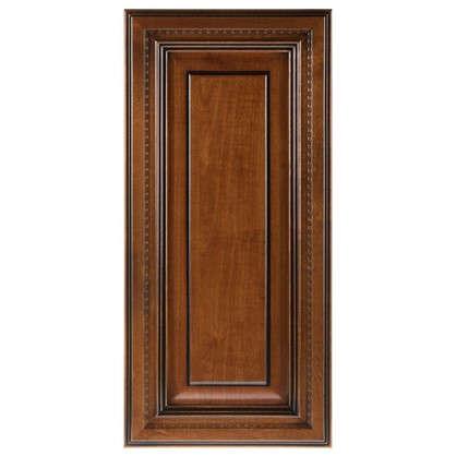 Дверь для шкафа Прованс 33х70 см массив дерева цвет коричневый