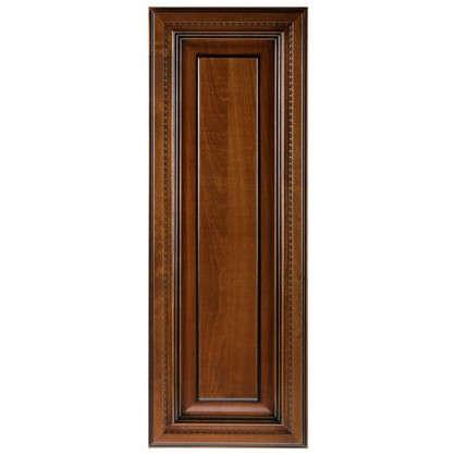 Дверь для шкафа Прованс 33х92 см массив дерева цвет коричневый