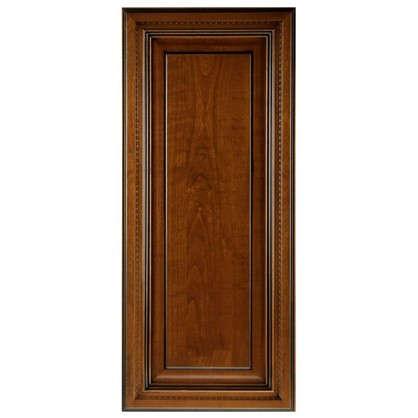 Дверь для шкафа Прованс 40х92 см массив дерева цвет коричневый