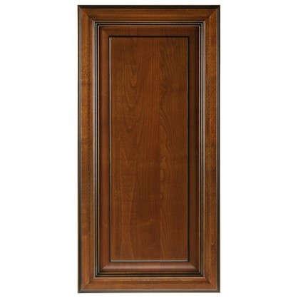 Дверь для шкафа Прованс 45х92 см массив дерева цвет коричневый