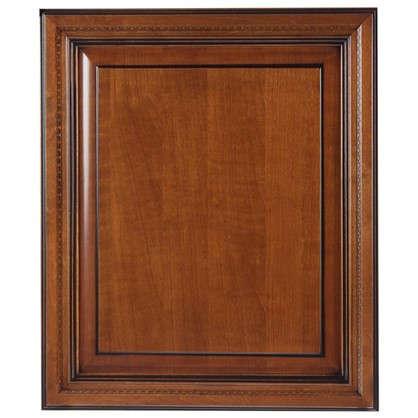 Дверь для шкафа Прованс 60х70 см массив дерева цвет коричневый