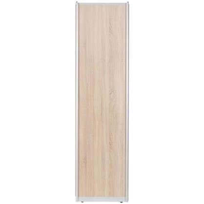 Купить Дверь-купе 2255х604 мм цвет дуб сонома/серебро дешевле