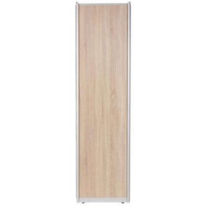 Дверь-купе 2255х904 мм цвет дуб сонома/серебро