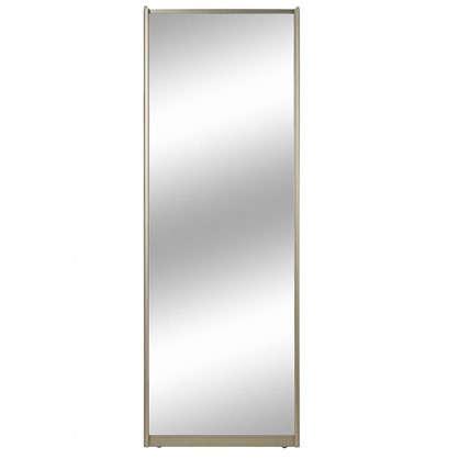 Дверь-купе 2255х904 мм цвет зеркало/шампань