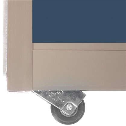 Дверь-купе 2455х704 мм цвет зеркало/шампань