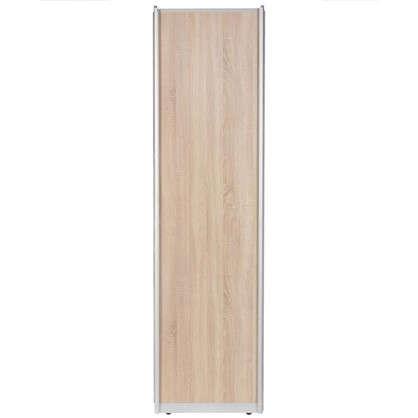 Дверь-купе 2455х804 мм цвет дуб сонома/серебро