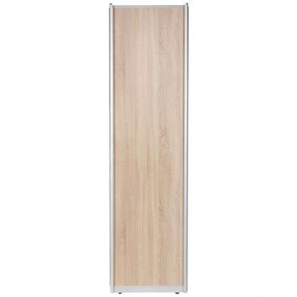 Дверь-купе 2555х804 мм цвет дуб сонома/серебро