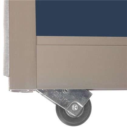 Купить Дверь-купе 2555х904 мм цвет зеркало/шампань дешевле