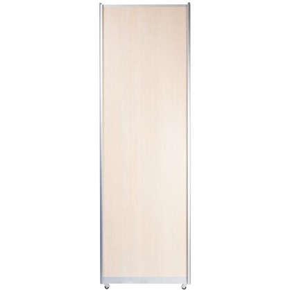 Дверь-купе Spaceo 2455х604 цвет дуб беленый