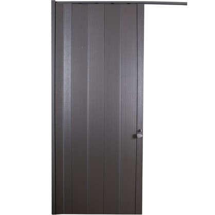 Дверь ПВХ Spacy 84x205 см цвет металлик