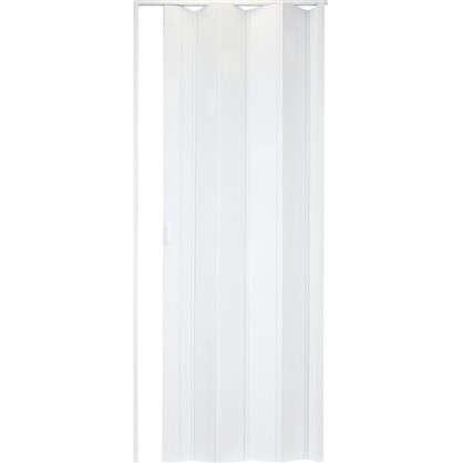Дверь ПВХ Стиль 84x205 см цвет белый глянец