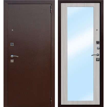 Дверь входная металлическая Царское зеркало Maxi 960 мм правая цвет дуб сонома