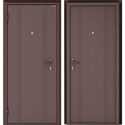 Купить Дверь входная металлическая Doorhan Эко 880 мм левая дешевле