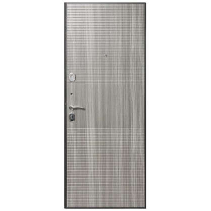 Дверь входная металлическая Гарда Муар 860 мм правая цвет венге тобакко