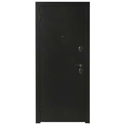 Дверь входная металлическая Гарда Муар 960 мм левая цвет лиственница бежевая
