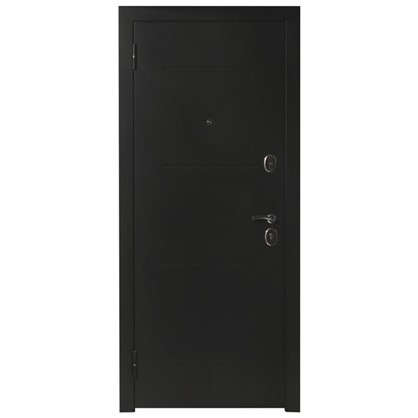 Дверь входная металлическая Гарда Муар 960 мм левая цвет венге тобакко