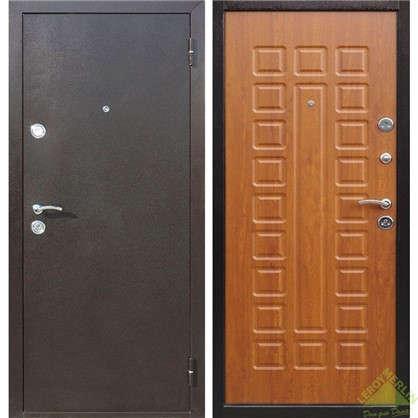 Дверь входная металлическая Йошкар 860 мм правая цвет золотистый дуб