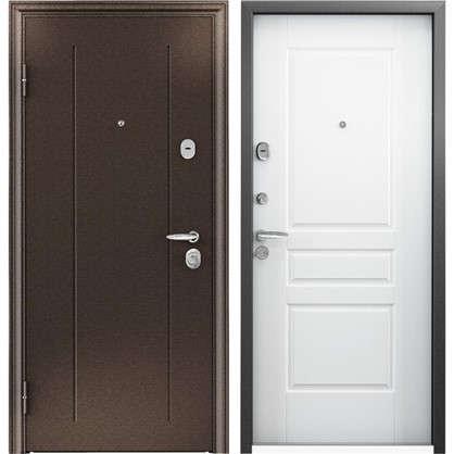Купить Дверь входная металлическая Контроль Хит 950 мм левая дешевле