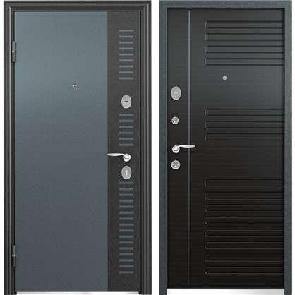 Дверь входная металлическая Контрол Люкс 860 мм левая