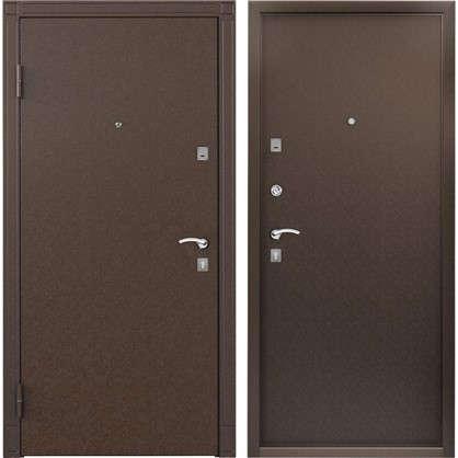 Дверь входная металлическая Спектра Сталь 860 мм левая