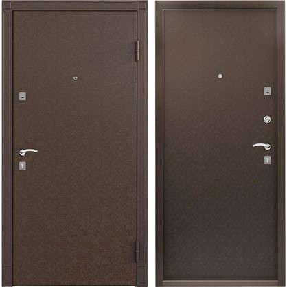 Дверь входная металлическая Спектра Сталь 860 мм правая