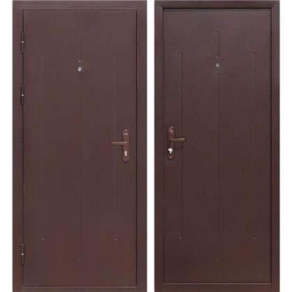 Дверь входная металлическая Стройгост 7-1 960 мм левая