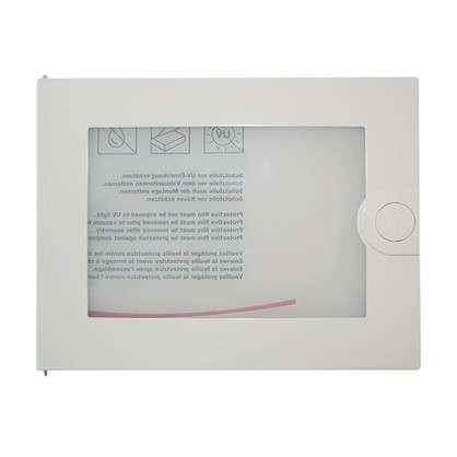Дверца с прозрачным окном для Hager VA12CN