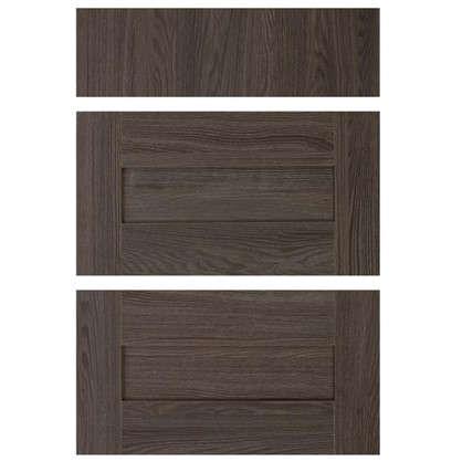 Двери для шкафа Delinia Фрейм темный 60 см 3 ящика
