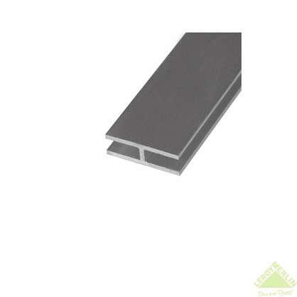 Двутавр алюминиевый 25х13х25х15 см 1 м цвет серебро