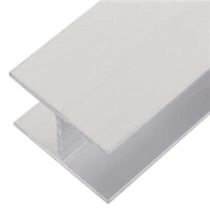 Купить Двутавр алюминиевый 30х20х30х1.5 мм 1 м цвет серебро дешевле