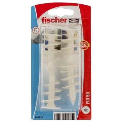 Дюбель для изоляционного материала Fischer FID 50 мм нейлон 4 шт.