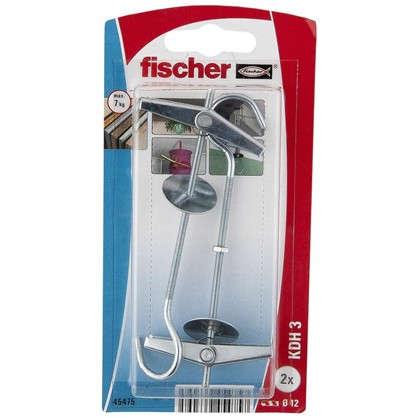 Дюбель для пустотелых материалов Fischer KDH 3 с крюком 12х105 мм оцинкованная сталь 2 шт.