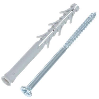 Дюбель-гвоздь потайной Standers 10x120 мм нейлон 4 шт.