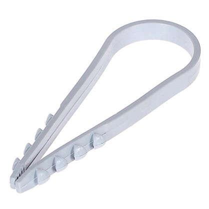 Купить Дюбель-хомут Oxion 19-25 мм цвет серый дешевле