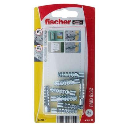 Дюбель распорный металлический Fischer FMD 6x32 мм металл 8 шт.