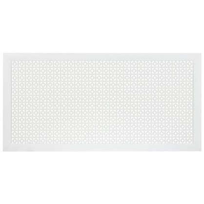 Купить Экран для радиатора Дамаско 120х60 см цвет белый дешевле