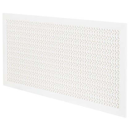 Экран для радиатора Дамаско 120х60 см цвет белый