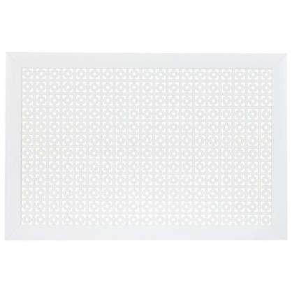 Купить Экран для радиатора Дамаско 90х60 см цвет белый дешевле
