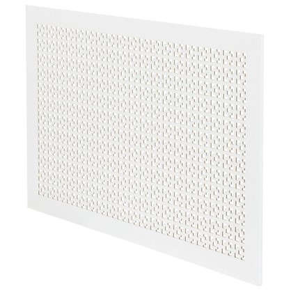 Экран для радиатора Дамаско 90х60 см цвет белый