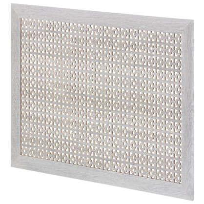 Купить Экран для радиатора Дамаско 90х60 см цвет дуб серый дешевле