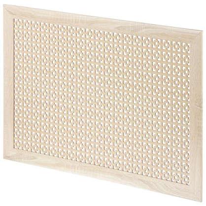 Купить Экран для радиатора Дамаско 90х60 см цвет сонома дешевле