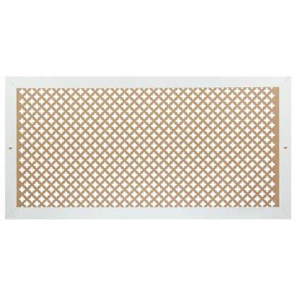 Купить Экран для радиатора Готико 120х60 см цвет белый дешевле