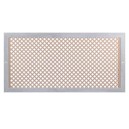 Купить Экран для радиатора Готико 120х60 см цвет дуб серый дешевле