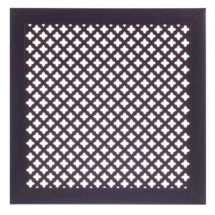 Купить Экран для радиатора Готико 60х60 см цвет венге дешевле